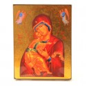 Icone Religieuse OR - 18x23 Notre Dame des Anges