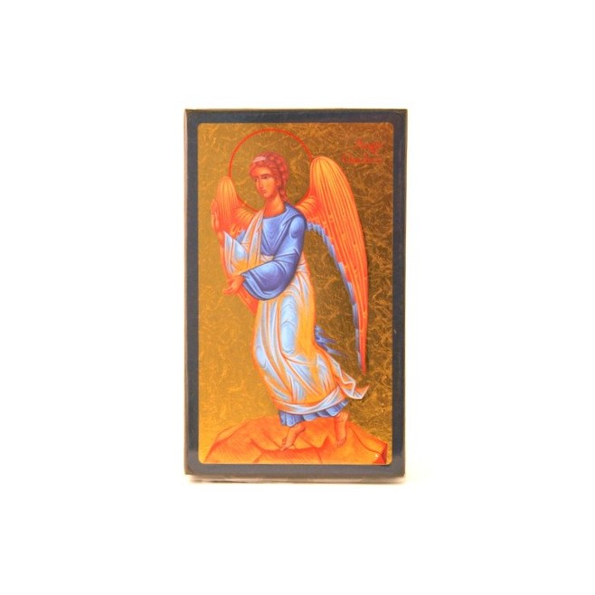 ICONE RELIGIEUSE OR - 9x15 Ange gardien