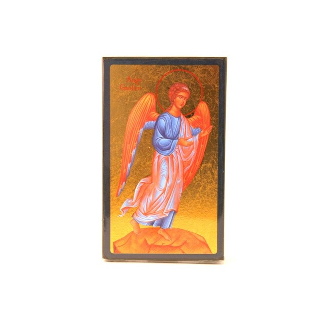 ICONE RELIGIEUSE OR - 9x12 Ange gardien