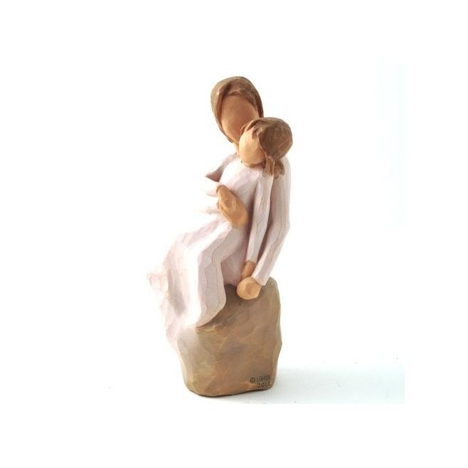 Cadre Willow Tree - Mère et Fille.