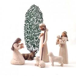 Crèche Willow Tree - Nativité et arbre