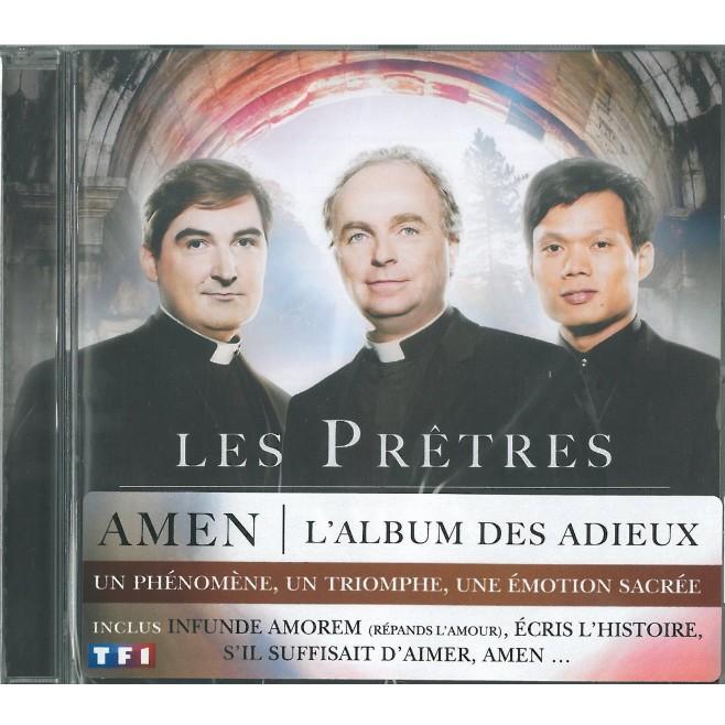 """CD : """"Amen"""" - Les prêtres"""