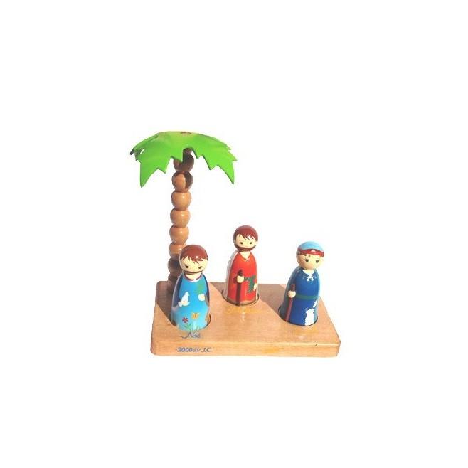 Santons ancien testament - Crèche de Noël en bois