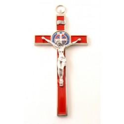 Croix de Saint Benoit rouge