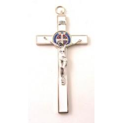 Croix de Saint Benoit blanc