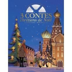 3 contes chrétiens de Noël en livre-CD