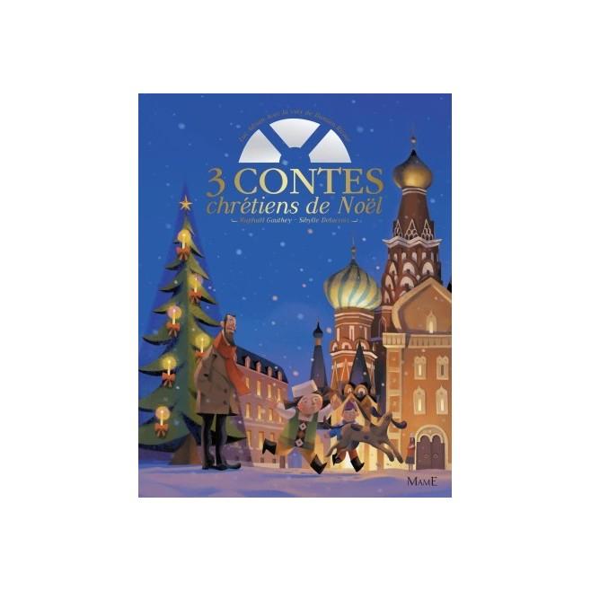 3 contes chrétiens de Noël en livre CD