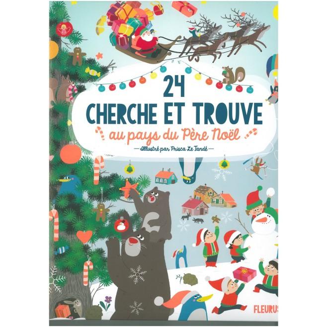 24 cherche et trouve au pays du Père Noël