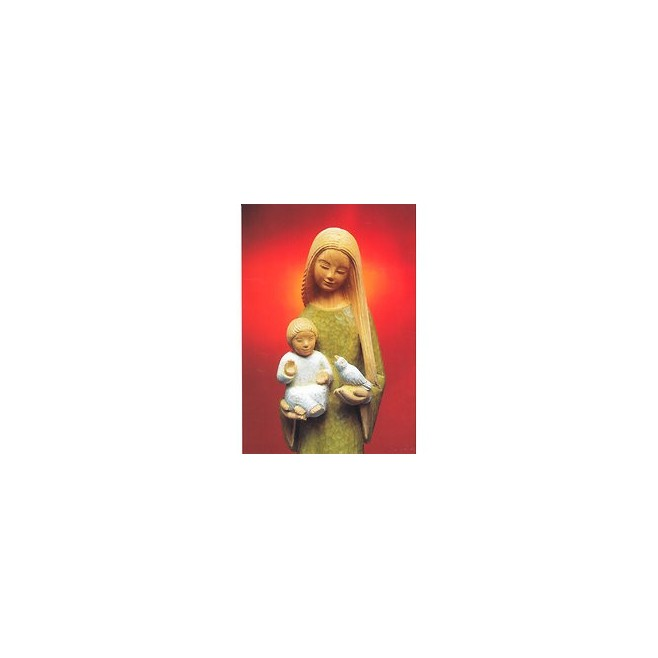 Icone Vierge à l'enfant par Yves le Pape