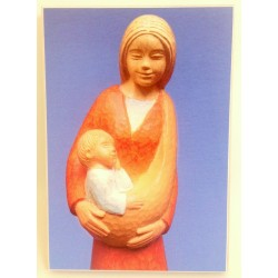 Icone Vierge à l'enfant et à la colombe par Yves le Pape