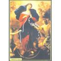 Icone Religieuse -10x15- Marie qui défait les noeuds