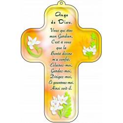 Croix jaune Ange de Dieu