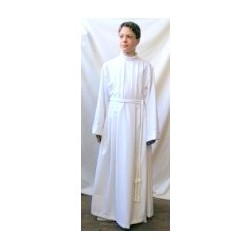 Aube, robe de communion 125cms