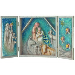 Coffret Crèche moderne Willow Tree - Starry Night Nativity