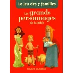 Jeu de 7 familles - les grands personnages de la Bible