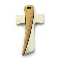 Croix bois et métal