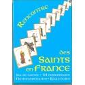 """Jeu de cartes """"rencontre des saints en France"""""""