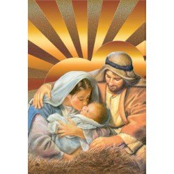 Icone religieuse Sainte Famille