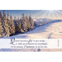 6 Cartes Simples - Nature - KIT06