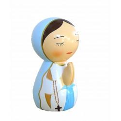 Statue Vierge Marie en prières