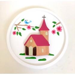 Cadre rond église