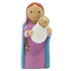 Statue Vierge à l'enfant - Little drops water
