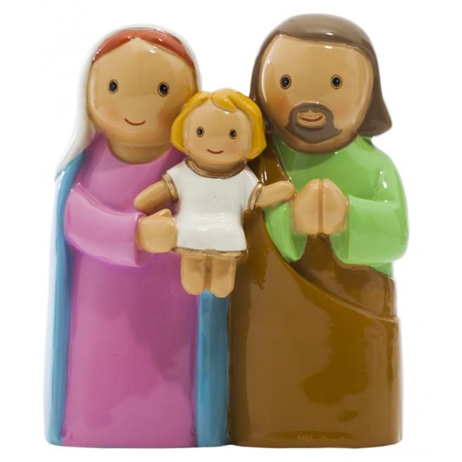 Statue Sainte Famille - Little drops water