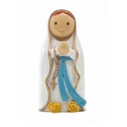 Statue ND de Lourdes - Little drops water
