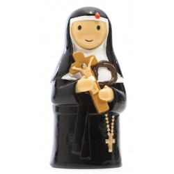 Statue Sainte Rita - Little drops water