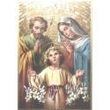 Icone religieuse dorée Sainte Thérèse de l'enfant Jésus