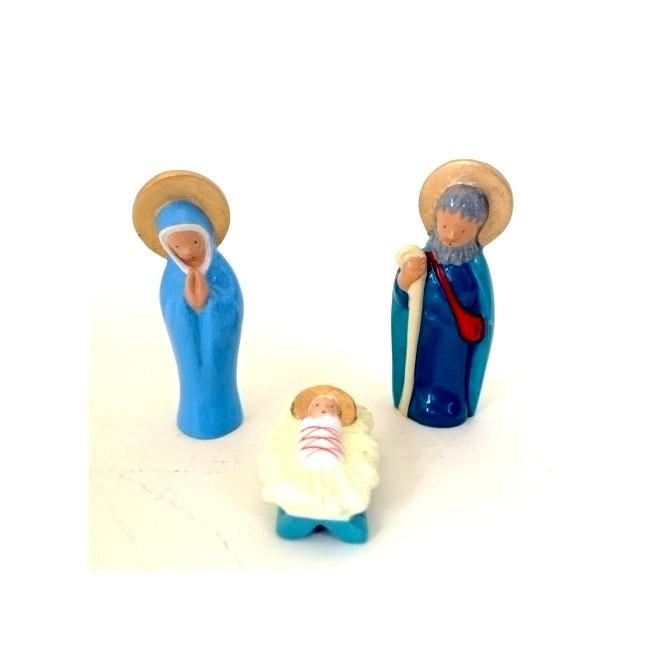 Crèche Cassegrain - Nativité 3 personnages