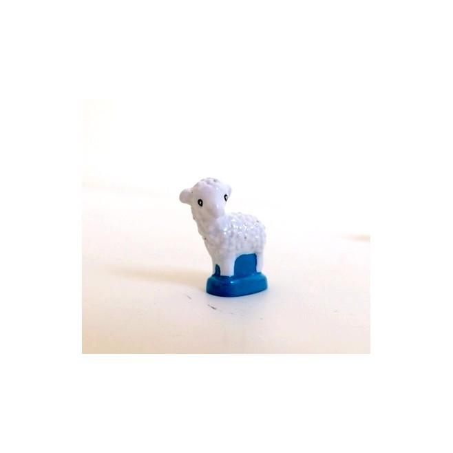 Crèche Cassegrain - Mouton tête levée