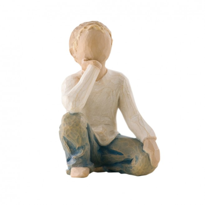 Statue Willow Tree - Inquisitive Child (enfant curieux)