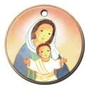 Pendentif Maïte Roche - Vierge à l'enfant