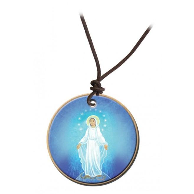 Pendentif Maïte Roche - Vierge Miraculeuse