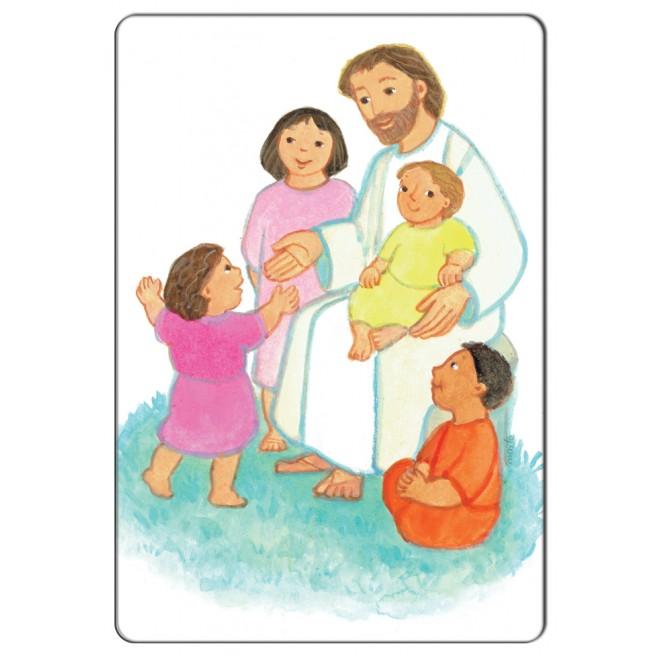Magnet religieux Maïte Roche - Christ bénissant