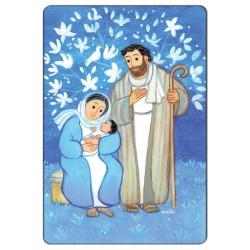 Magnet religieux Maïte Roche - Sainte Famille