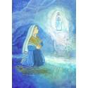 Carte Saint Patron Maïte Roche - Ste Bernadette NDLourdes