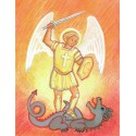 Carte Saint Patron Maïte Roche - Saint Michel