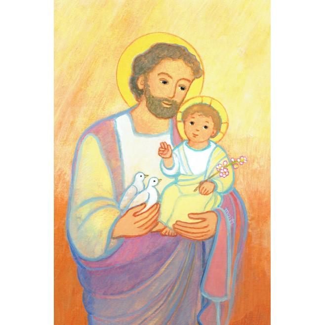 Carte Saint Patron Maïte Roche - Saint Joseph