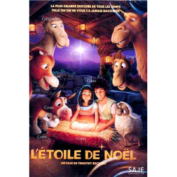 DVD L'étoile de Noël dessin animé