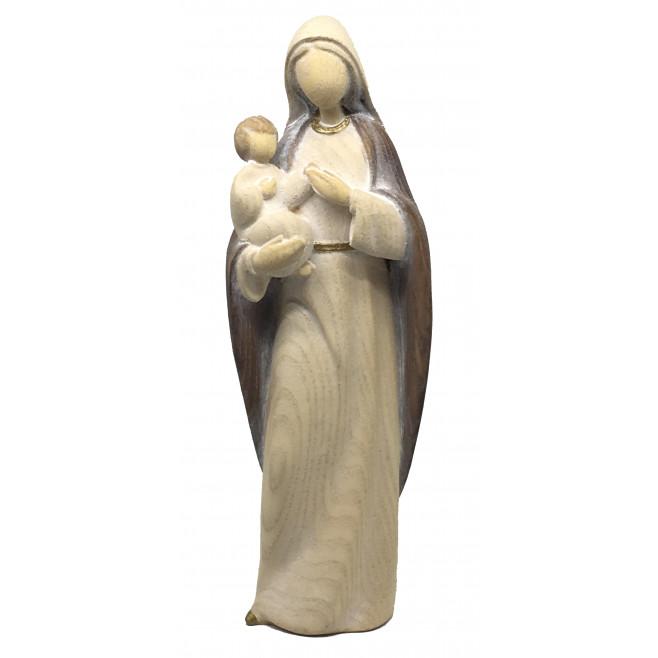 Statue moderne Vierge à l'enfant