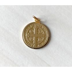 Médaille Saint Benoit en OR