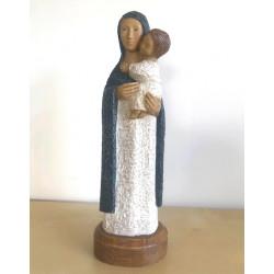 Vierge Eleousa - bleu - Soeurs de Bethleem