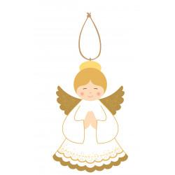 Décoration de noël - Suspension Ange en prière