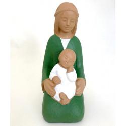 Statue Yves le Pape - Marie de la joie Verte