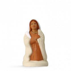 Marie à genou  - Arterra - 7cm - blanc