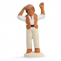 Homme ravi - Arterra - 7cm - blanc