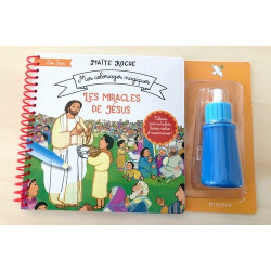 Les miracles de Jesus - mes coloriages magiques - Maïte Roche