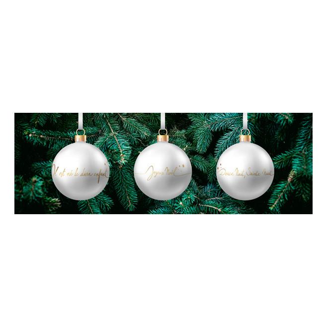 3 Boules de Noël - Au fil de la foi